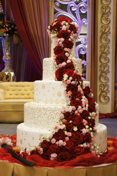 UOB CHEZINGRID WEDDING CAKE